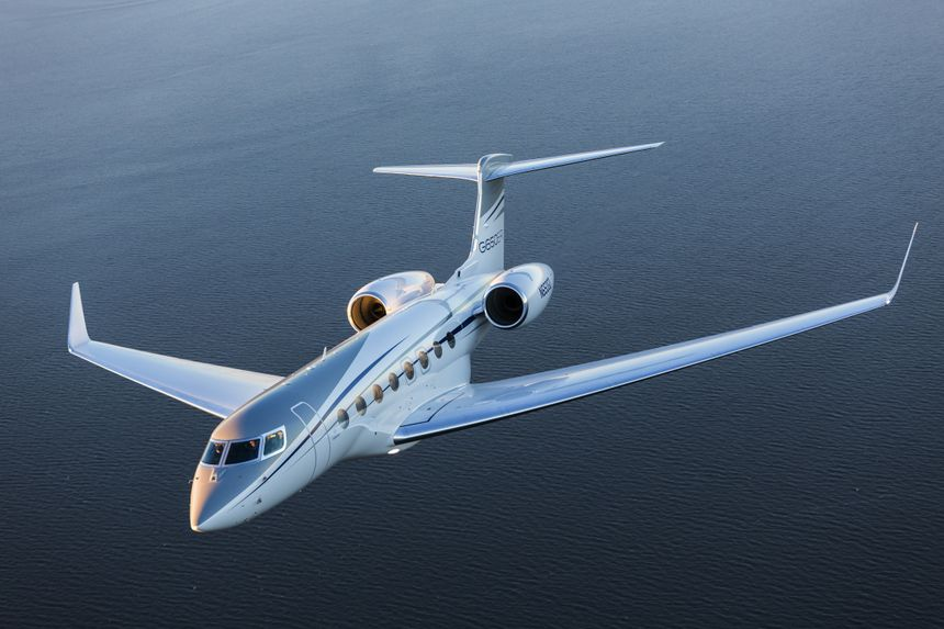 The G650ER is Gulfstream's flagship aircraft.