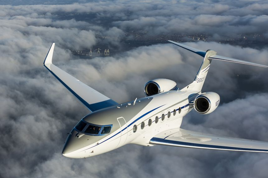 Gulfstream G650ER Makes Record-Breaking Flight From New York To Dubai