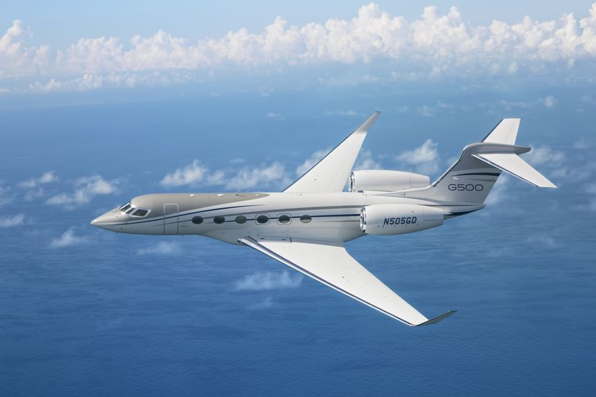 Gulfstream G500 Sets Eight City-Pair Records