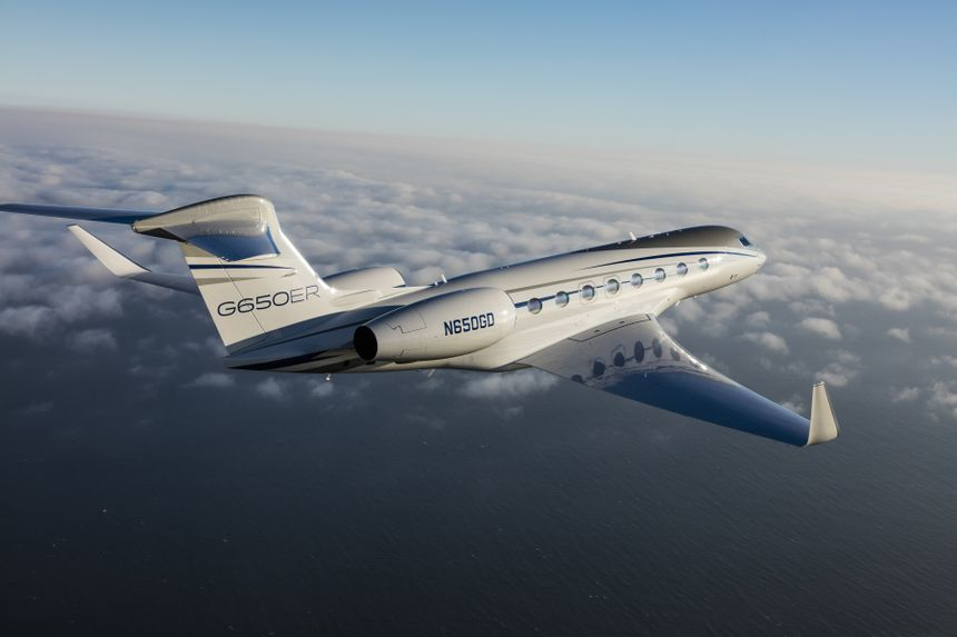 Gulfstream G650ER Makes Record-Breaking Polar Flight