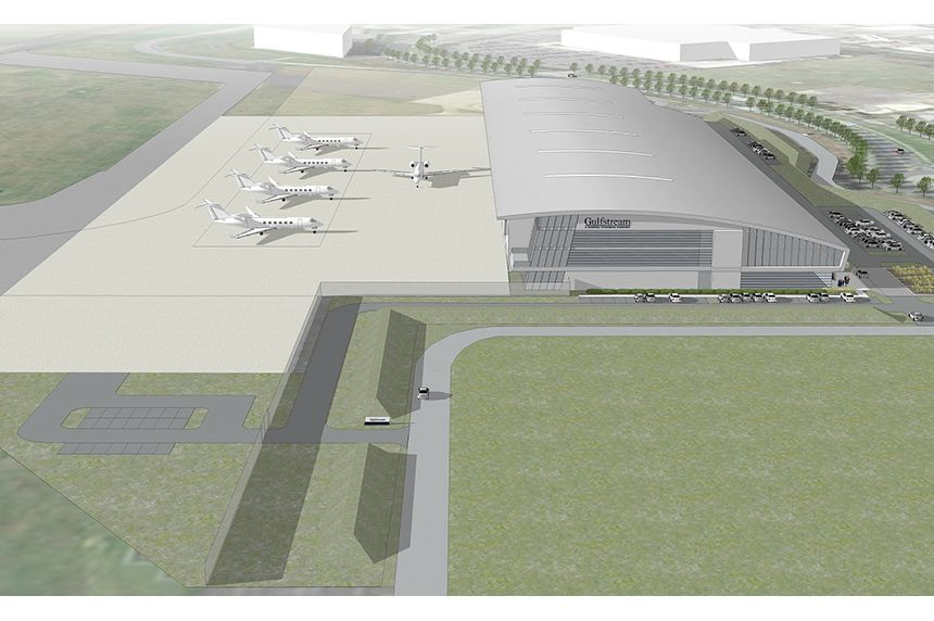 Gulfstream Selects TAG Farnborough Airport For Site Of New London-Area Service Center