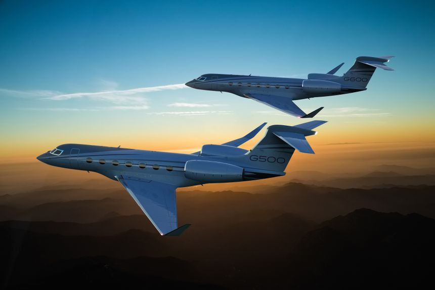 Gulfstream's All-New G500, G600 Headline Company's Presence at NBAA-BACE