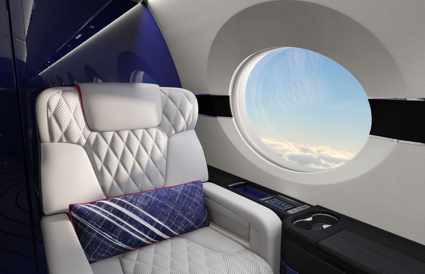 Gulfstream G500 Velocity Concept