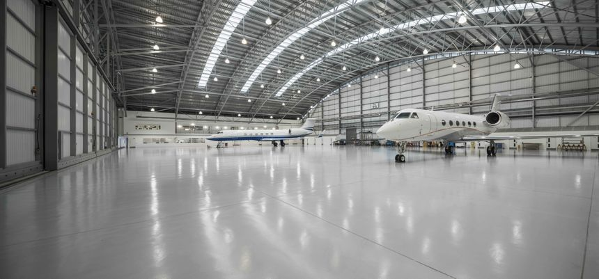Gulfstream Operations Underway At Farnborough Airport