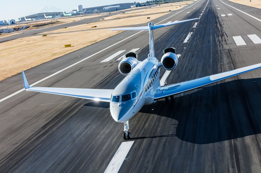 Gulfstream G650 Family Certified For Steep Approach