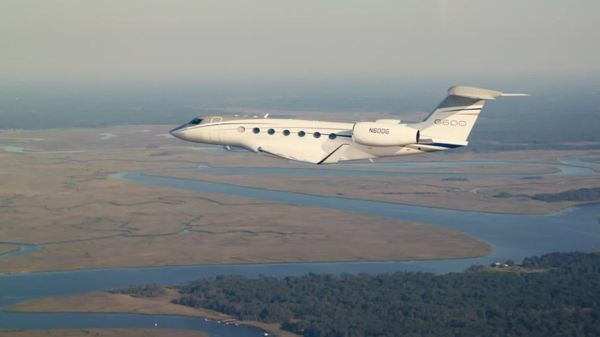 Gulfstream G600 Aerial Media Loop