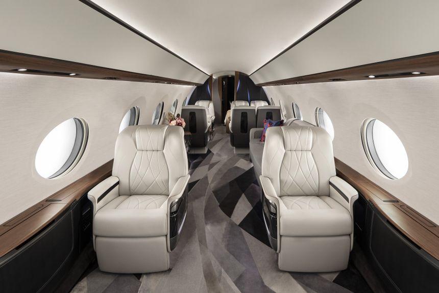 Gulfstream G700 Cabin Aft View