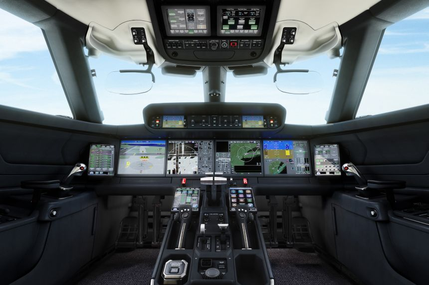 Gulfstream G700 Symmetry Flight Deck