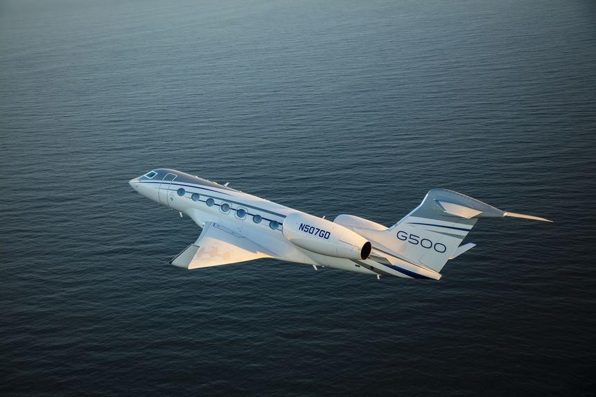 Gulfstream Surpasses 25 G500 Deliveries