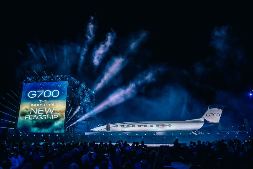 Gulfstream Launches G700 Cabin Mock-Up World Tour