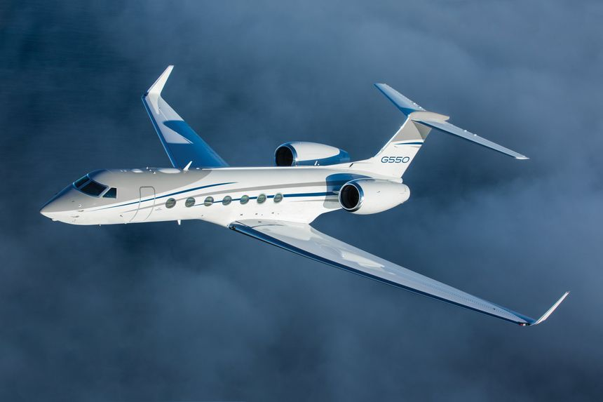 Gulfstream Sells Last Commercially Available G550