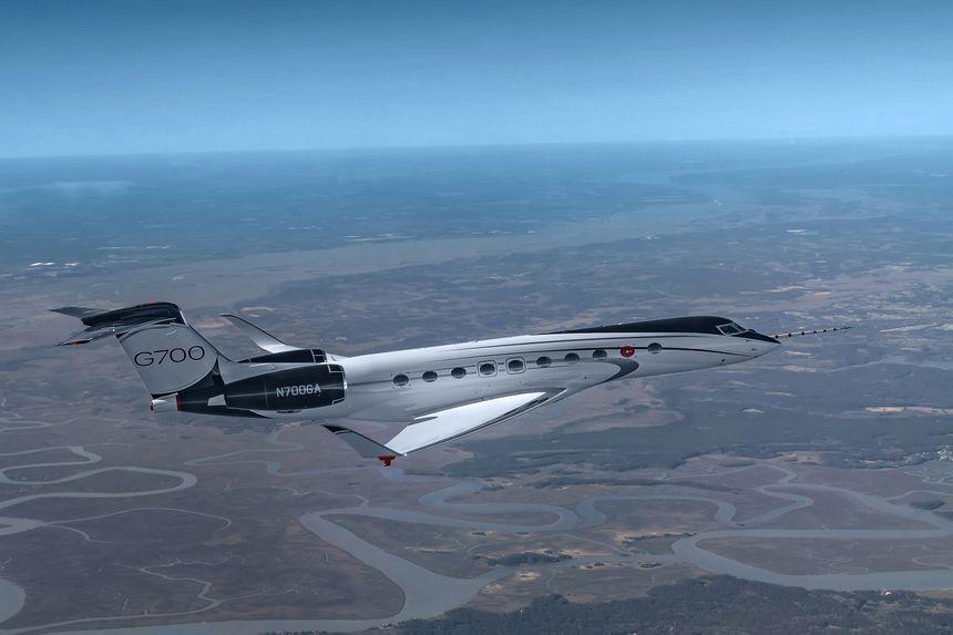 Gulfstream Advances G700 Flight-Test Program