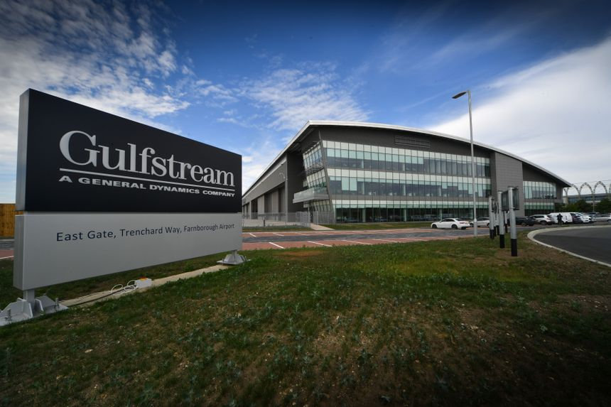 Gulfstream Opens Farnborough Service Center