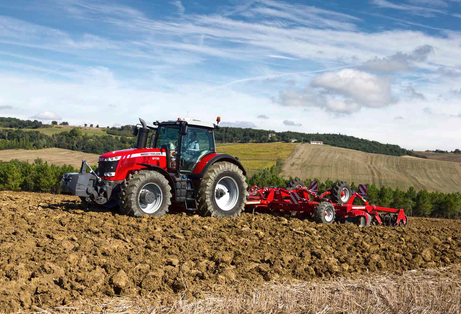 New Massey Ferguson 8700 Series High Horsepower Tractors