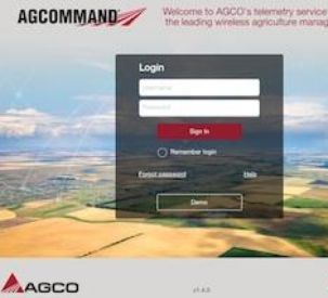 AGCO announces updates to its machine management solution AgCommand