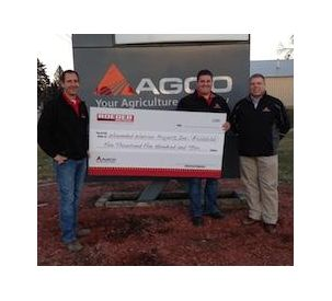 AGCO Raises Nearly $100,000 in Support of Wounded Service Veterans