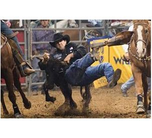 Hesston-sponsored Cowboys Win Big at 2012 Wrangler National Finals Rodeo