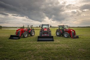 Massey Ferguson Global Series 4700 5700 6700 family