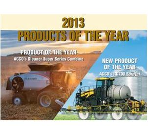 AGCO Sweeps Agri Marketing Magazine's 2013 New Product and Product of the Year Awards