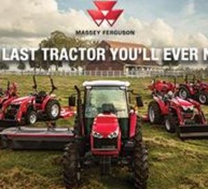 """Massey Ferguson launches new national advertising campaign,  """"The Last Tractor You'll Ever Need"""""""
