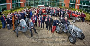 Massey Ferguson welcomes Friends of Ferguson Heritage Club members to Abbey Park