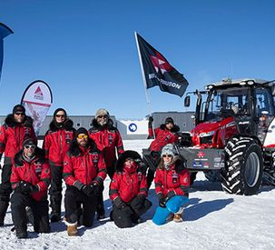 One year on from South Pole triumph, Massey Ferguson continues to sparkle!