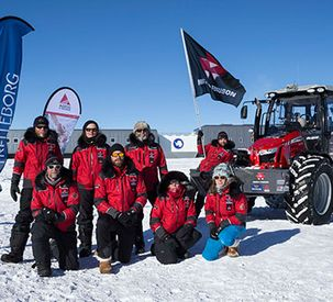 Home for Christmas! Triumphant Return to Base Camp for Antarctica2 Tractor Expedition