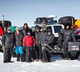 Antarctica2 Tractor Expedition Now Halfway to South Pole!