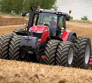 MF 8737 wins Tractor of the Year finalist Award