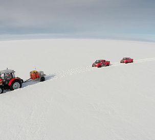 Antarctic environment will test expedition tractor and crew to the limits