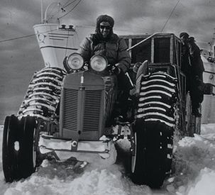 Antarctica2 echoes Sir Edmund Hillary's 1958 expedition to the South Pole by tractor