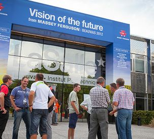 New ideas, New Techniques, New Thinking. Vision of the Future from Massey Ferguson