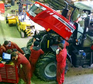 New Massey Ferguson tractor helps Kent college maintain highest training standards