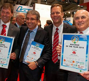 Massey Ferguson DELTA combine wins Machine of the Year at Agritechnica 2013