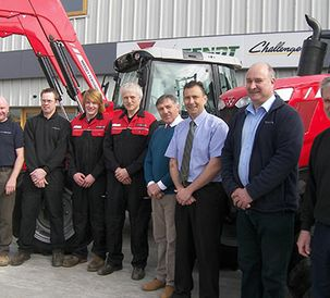 Massey Ferguson's latest 'one stop shop' arrives in Southam