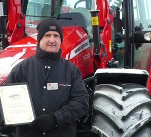 Award success for Massey Ferguson MF 5600 at LAMMA 2013