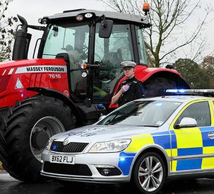CESAR security for Massey Ferguson tractors