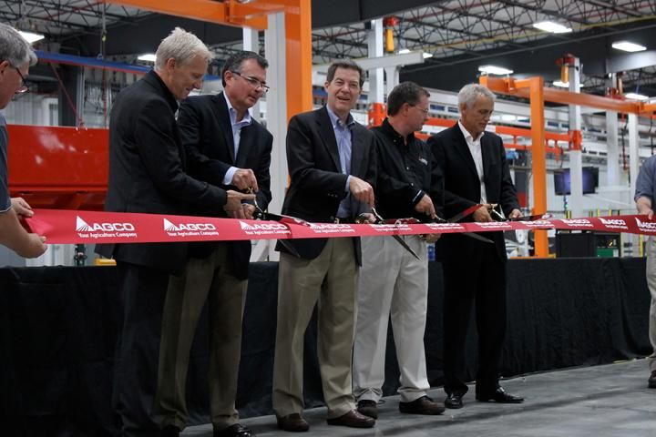 AGCO Opens $40 Million Paint Center in Hesston, Kan., Facility