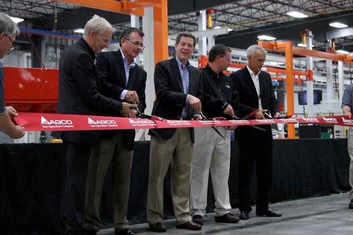 AGCO Opens $40 Million Paint Center in Hesston, Kan., Facility