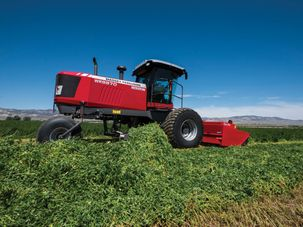 Hesston by Massey Ferguson Introduces Triple Windrower Attachment