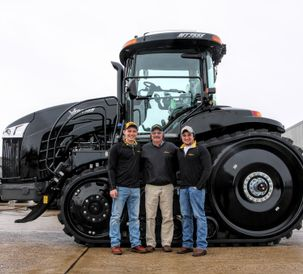 Josh Muresan of Bristolville's Maple Lawn Farms wins all-expense paid trip to AGCO's Intivity Center in Minnesota