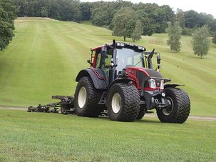 Four N113 HiTech 5 Tractors in Council Work