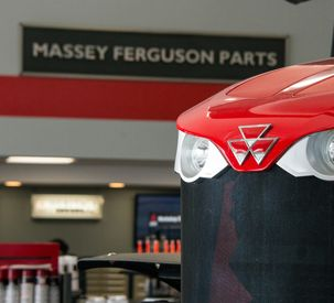 Massey Ferguson dealership showroom