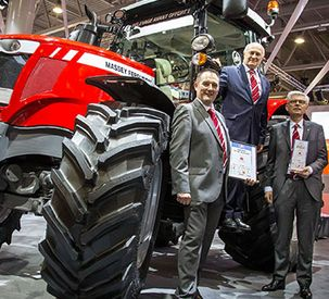 MF 6718 S Machine of the Year - Mid-power tractor category