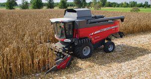Massey Ferguson CornFlow Maize Headers enhance combine versatility and exceptional laid crops performance
