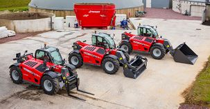 Massey Ferguson raises the bar with the introduction of new generation MF TH Series Telehandlers at SIMA 2017
