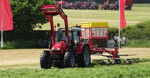 Full range of Massey Ferguson balers, hay and forage kit demonstrated at Grassland & Muck 2017