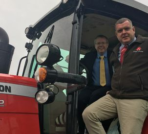 Massey Ferguson to support Ireland's young farmers in Platinum sponsorship agreement