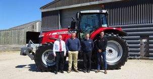 Luck of the draw brings a new Red Tractor to Bugthorpe