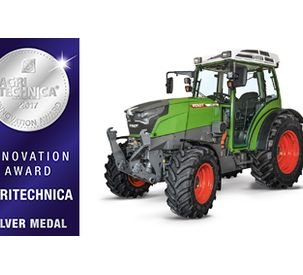 Fendt e100 Vario: The battery-powered compact tractor